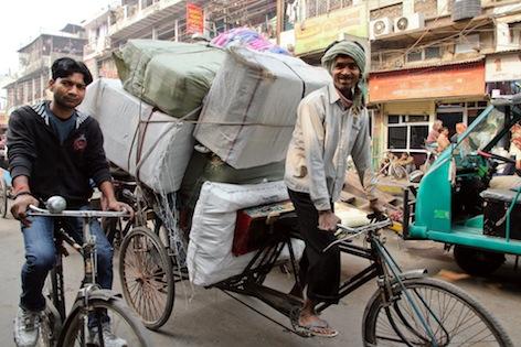 Delhi Street Scene Itin